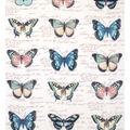No Sew Fleece Throw 72\u0022-Butterflies