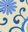Waverly Upholstery Fabric 54\u0022-Pom Pom Play Larkspur