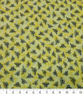 Quilter\u0027s Showcase Cotton Fabric-Bees Yellow