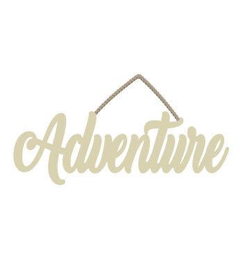 Camp Ann Wood Adventure Sign