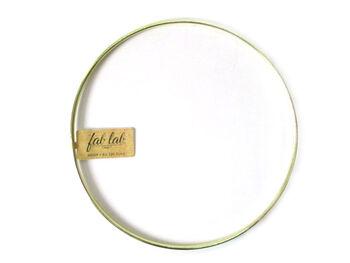 """Darice 8"""" Metal Macrame Ring-Gold"""