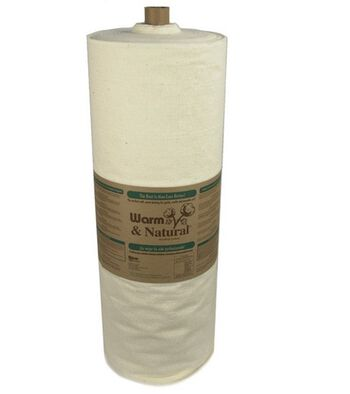 The Warm Company Warm & Natural Cotton Batting 45''x40 yds
