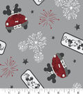 Disney Mickey & Minnie Mouse Cotton Fabric -Vintage Firework of Love