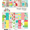 Simple Stories Hello Summer 24-sheet 6\u0027\u0027x8\u0027\u0027 Double-sided Paper Pad