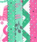 Jelly Roll Cotton Fabric Pack 2.5\u0027\u0027x42\u0027\u0027-Girl