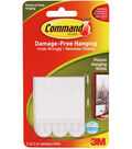 Command Medium Picture Hanging Strips .5\u0022x2.75\u0022 3 Set/Pkg-White