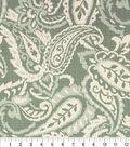 Optimum Performance Multi-Purpose Decor Fabric 54\u0027\u0027-Ocean Paisley