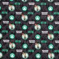 Boston Celtics Cotton Fabric-Court