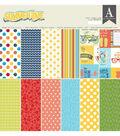 Authentique Summertime 24-sheets 12\u0027\u0027x12\u0027\u0027 Double-sided Cardstock Pad