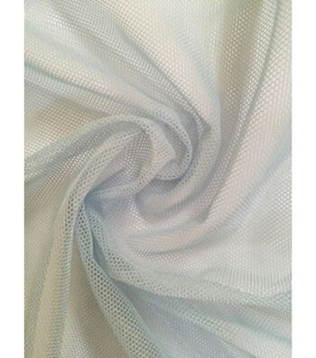 Casa Collection Super Stretch Mesh Fabric 60''-Icy Blue