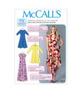 McCall\u0027s Pattern M7382 Misses\u0027 Pullover Knit Dresses-Size 16-26