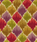Waverly Print Fabric 54\u0022-Baroque Bargello/Cordial
