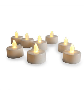 Save the Date 12pk LED Flicker Tea Lights