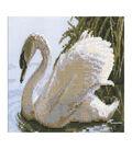 RIOLIS Counted Cross Stitch Kit 13.39\u0022X8.27\u0022-Female Swan (10 Count)