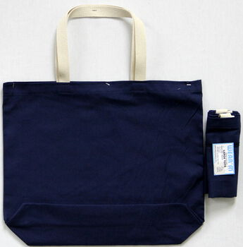 Wear'm Large Tote Navy