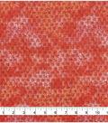 Keepsake Calico Cotton Fabric 43\u0022-Red Orange Tiedye Blender