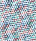 Modern Cotton Fabric -Poppy Quatrefoil