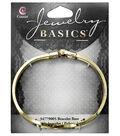 Cousin Jewelry Basics Gold Bracelet Base