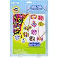 Perler Fun Fusion Fuse Bead Activity Kit-Neon Jewelry