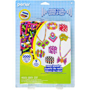 Perler Fun Fusion Fuse Bead Activity Kit-Neon Jewelry, , hi-res