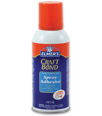 Elmers Craft Bond Extra Strength Spray Adhesive-4 Ounces