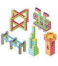 Magicube Classroom Set Bulk Pack, 128 Blocks