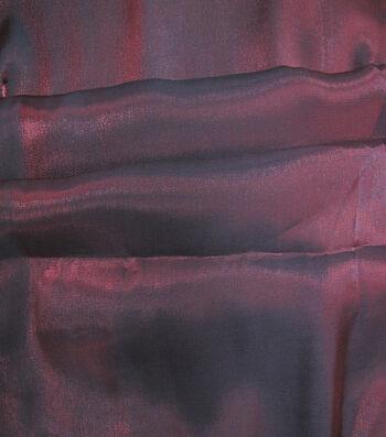 Casa Embellish Fabric-Liquid Woven Tango Red