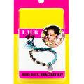 LaurDIY Mini DIY Cord Bracelet Kit-Purple & Teal