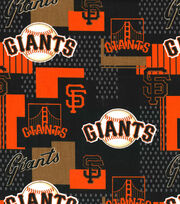 San Francisco Giants Cotton Fabric -Patch, , hi-res