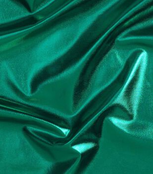Cosplay by Yaya Han 4-Way Metallic Fabric -Metallic Emerald