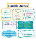 Scholastic Notable Quotes Bulletin Board Set, 2 Sets