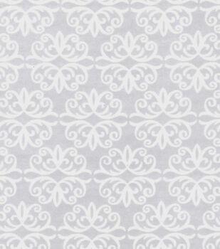 Magic Moon Flannel Fabric -Flora & Fauna Flake