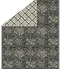 No Sew Fleece Throw 72\u0022-Onyx Stamped