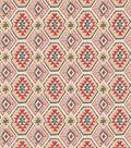 SMC Designs Outdoor Upholstery Fabric 54\u0022-Kneel/Rosequartz