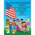 Carson-Dellosa The Pledge of Allegiance Carson Kids Chart 6pk