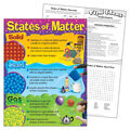 States of Matter Learning Chart 17\u0022x22\u0022 6pk