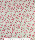 Doodles Juvenile Apparel Fabric -Cherry Blossom