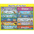 Carson-Dellosa Months of the Year Kid-Drawn Chart 6pk