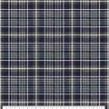 Super Snuggle Flannel Fabric-Navy & Grey Plaid