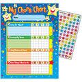 Stars Chore Charts, 25 Per Pack, 6 Packs