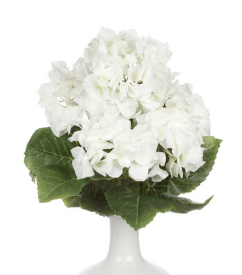 Bloom Room 19'' Hydrangea Bush-Creamy White
