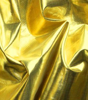 Metallics Shiny Lame Fabric -Gold
