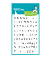 "Lawn Fawn Clear Stamps 4""X6""-Jessie's ABCs, , hi-res"