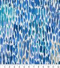 Kelly Ripa Home Upholstery Fabric 9\u0022x9\u0022 Swatch-Make It Rain Bluebell