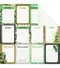 Kaisercraft Limelight Double-Sided Cardstock Paper New Leaf