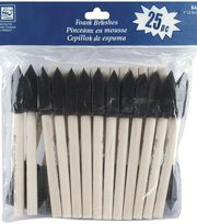 Loew-Cornell 25 pk 1'' Foam Brushes, , hi-res