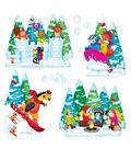 TREND enterprises, Inc. Wonderful Winter Bulletin Board Set, 2 Sets