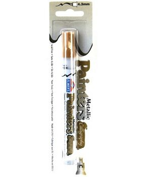 Elmers Calligraphy Painter Pen-Gold Metal