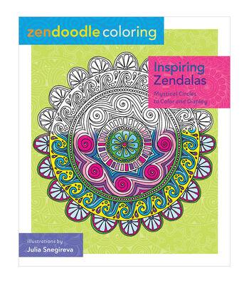 Julia Snegireva Zendoodle Coloring: Inspiring Zendalas Book