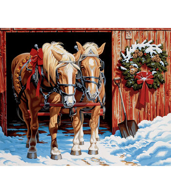 """Dimensions Paint By Number Kit 20""""X16""""-Ready For The Ride"""